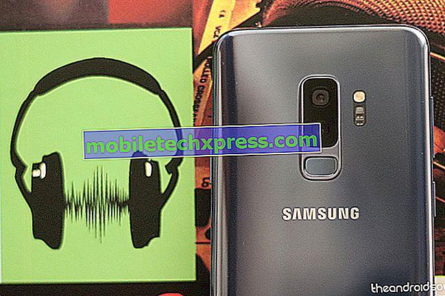 Samsung Galaxy Note 9: Mode sans échec, partition de cache de nettoyage et applications réinitialisées