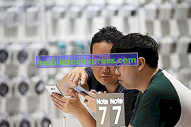 Samsung Galaxy Note 4 لا توجد استجابة حتى عند إصدار الشحن والمشاكل الأخرى ذات الصلة
