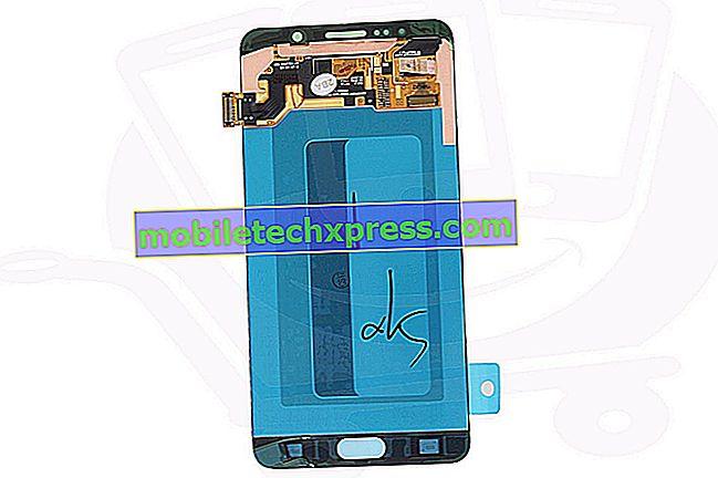 Galaxy Note 5 berøringsskærm er unøjagtig, andre LCD-skærmproblemer