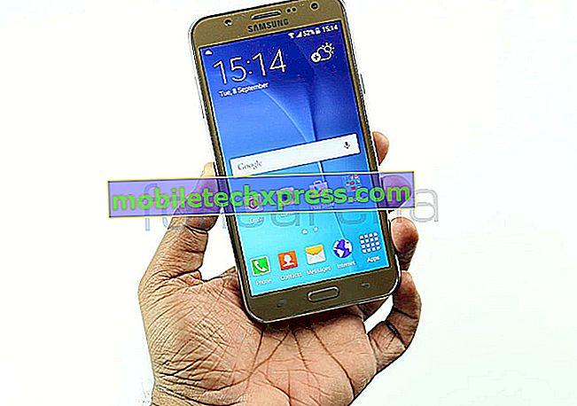 كيفية استكشاف مشكلات شاشة Samsung Galaxy Note 5 ومشاكل عرضها وإصلاحها [w / Troubleshooting Guide]