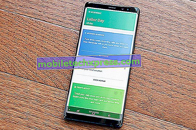 Samsung Galaxy бележка 8 няма да бъде напълно заредена