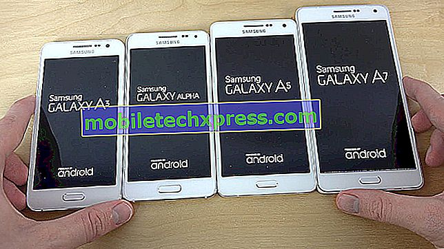 كيفية إعادة ضبط القرص الصلب على Samsung Galaxy A7