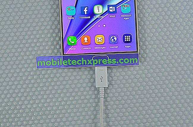 Napraw Samsung Galaxy Note 5 bez problemów z ładowaniem i innymi problemami z ładowaniem