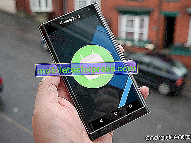 AT & T BlackBerry Priv maintenant la mise à jour de Marshmallow