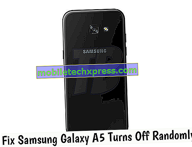 Samsung Galaxy A5 vypne náhodný problém a další související problémy