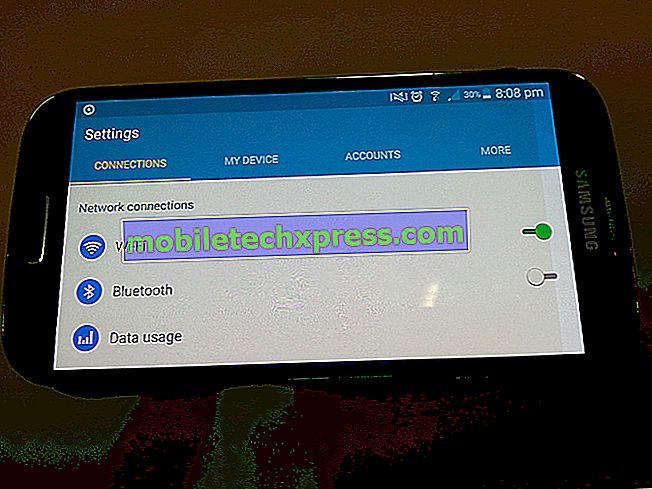 Problém s obrazovkou Galaxy S4: vodorovné a barevné čáry zobrazující na displeji další problémy s obrazovkou