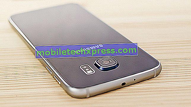 Samsung Galaxy S6 Vastgelopen op zwart scherm Probleem en andere gerelateerde problemen