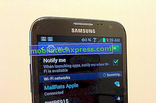 Samsung Galaxy S6, Wi-Fi Sorununa ve Diğer İlgili Sorunlara Bağlanmıyor