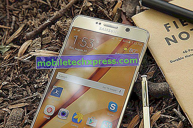 Samsung Galaxy Opomba 5 Težava z zaostankom besedila in drugimi povezanimi težavami