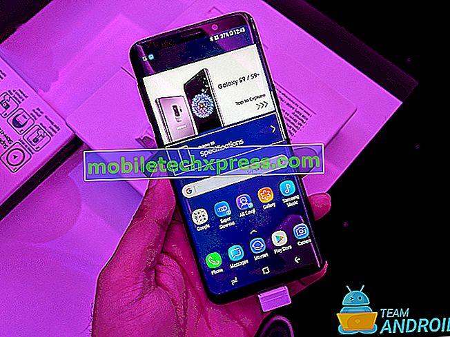 Das Samsung Galaxy S9 wurde nicht vollständig aufgeladen