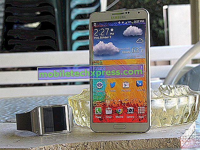 Galaxy Note 4 kan LTE niet gebruiken in het Sprint-netwerk, andere problemen