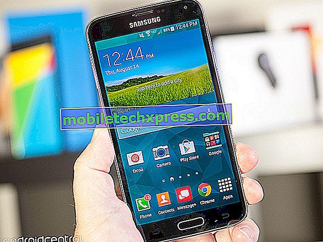 T-Mobile Galaxy S5 recevant maintenant la mise à jour Android 5.0