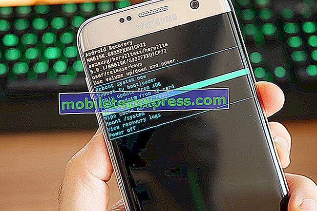 Cách khắc phục Samsung Galaxy S7 Edge hiển thị trên Thật không may, Thư viện đã dừng lỗi Lỗi