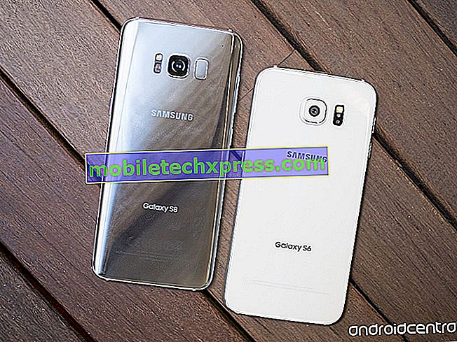 Løst Samsung Galaxy S8, der ikke tænder efter softwareopdatering
