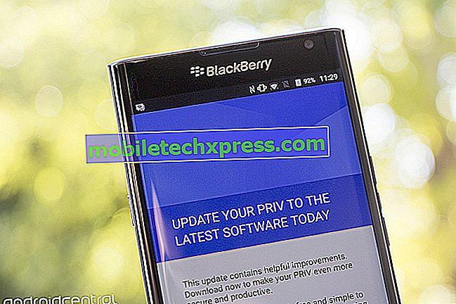 BlackBerry Priv ora ottiene l'aggiornamento per la sicurezza di marzo