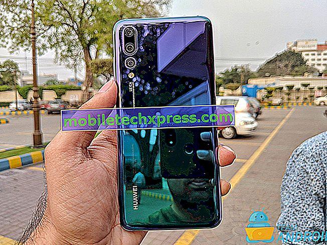 Des moyens faciles pour prendre une capture d'écran sur Huawei P20 Pro