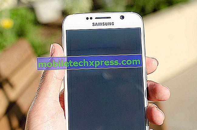 """Galaxy S6 """"Sync har for øyeblikket problemer med det. Det kommer snart til å bli"""" feil, andre problemer"""