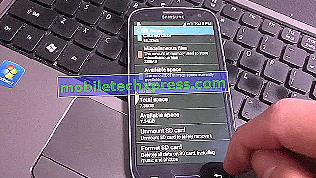 Fotos können nicht von der Galaxy S3-SD-Karte gelöscht werden