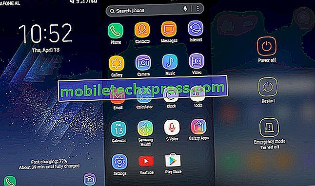 """Okraj Galaxy S7 """"Chyba aplikace Whatsapp - Ověřte své číslo kontaktu"""", další problémy s aplikací"""