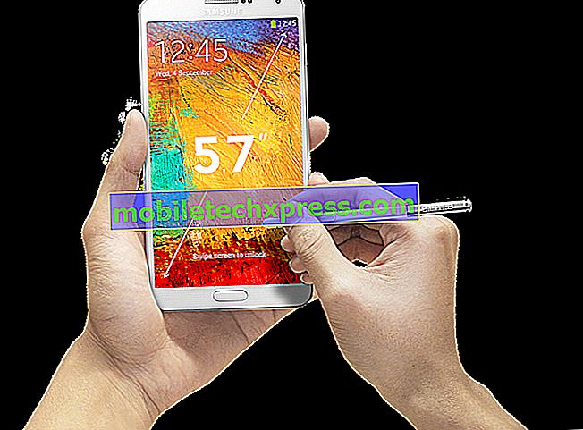 วิธีการแก้ไข Samsung Galaxy Note 3 ที่เกิดจากการปรับปรุงอมยิ้ม