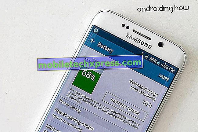 Behebung des Batterieproblems beim Galaxy Note 5, weitere Probleme mit der Stromversorgung