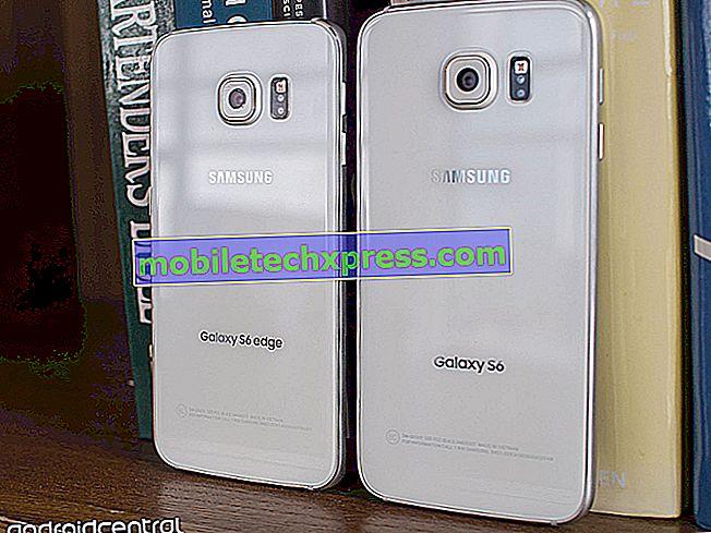 Sprint envoyant une mise à jour Samsung Pay vers le Galaxy S6 et le Galaxy S6 edge