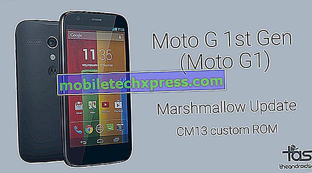 2014 Moto G şimdi Android 6.0 Hatmi güncelleme almak
