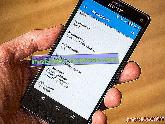 Série Sony Xperia Z2 a Z3 nyní dostávají aktualizaci Android 5.0