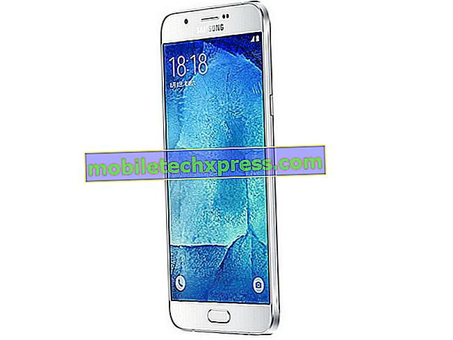 Как да рестартирате на Samsung Galaxy A8