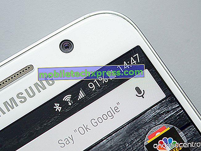 Samsung Galaxy Note 5 Hurtigt batteri afløbsproblem og andre strømrelaterede problemer