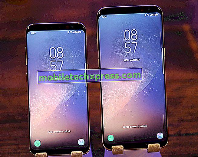 Vyriešený Samsung Galaxy S8 + Bootloop po aktualizácii softvéru