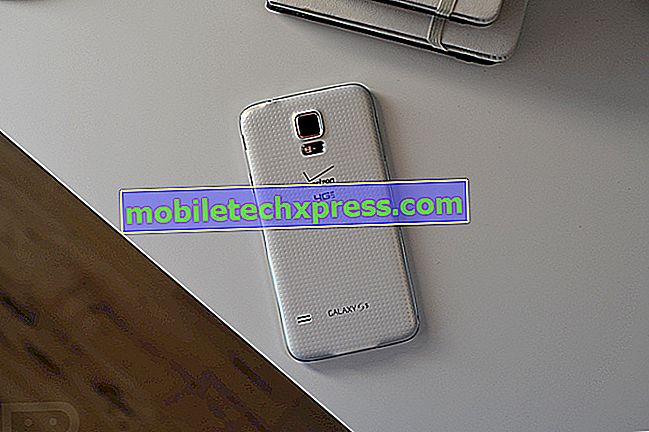 Verizon Galaxy S5 също получава малка актуализация