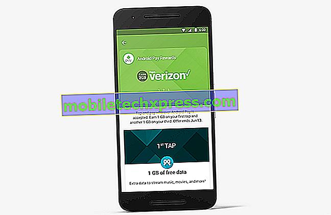 Verizon oferece 2 GB de dados gratuitos para usar o Android Pay