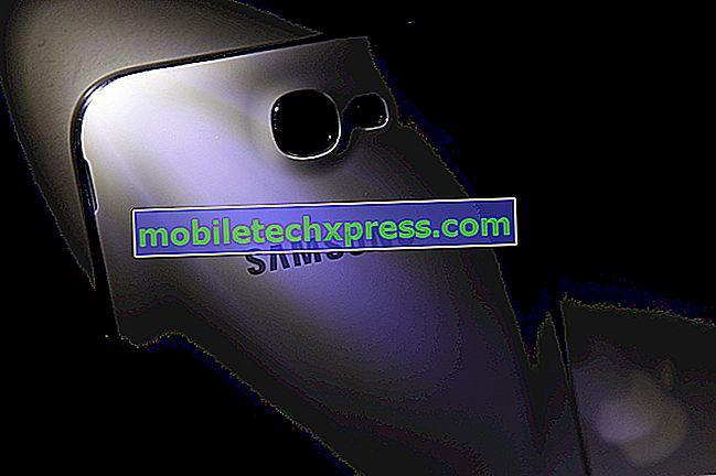 Samsung Galaxy S6 Edge + Kan ikke få tilgang til feil