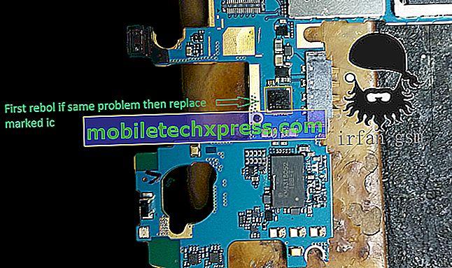 Řešená aktualizace softwaru Samsung Galaxy S8 se nepodařilo stáhnout chybu