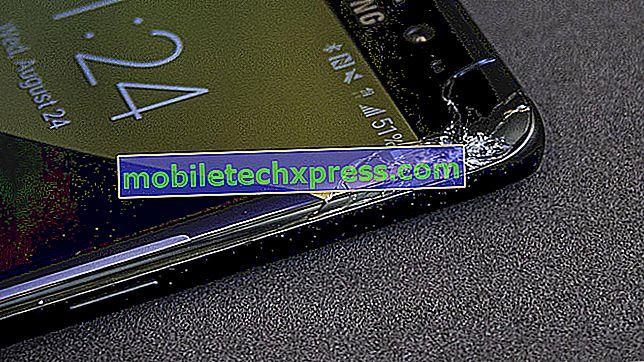 Jak opravit popraskanou obrazovku Galaxy S8 zobrazující vodorovné čáry
