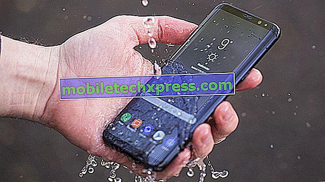 Решен Samsung Galaxy S9 + влажност открива грешка след контакт с вода