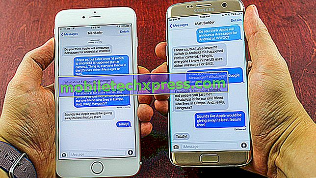 حلها سامسونج جالاكسى S9 غير قادر على إرسال رسالة خطأ النص