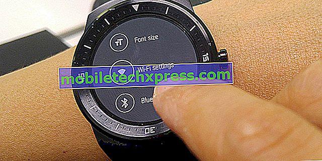 Funkcia LG G Watch R je vybavená funkciou WiFi pripojenia s menšou aktualizáciou