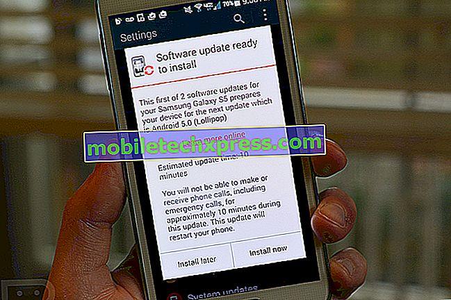 Kako nastaviti uporabniške račune v Lollipop posodobljeni Galaxy S5