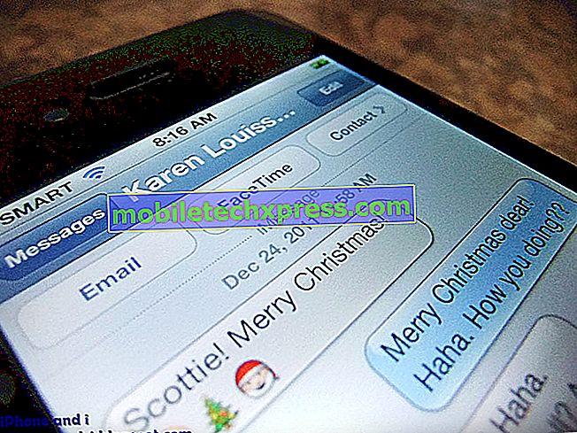 Risoluzione dei problemi Il messaggio di testo di Samsung Galaxy Note 4 non è in arrivo o in uscita