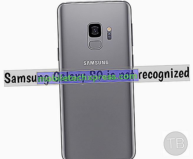 Comment réparer Samsung Galaxy S9 + non reconnu par ordinateur portable