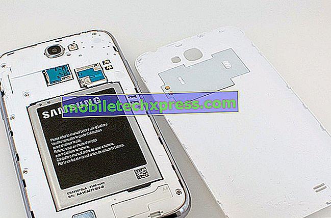Отстраняване на неизправности Samsung Galaxy Note 4, която няма да зареди напълно