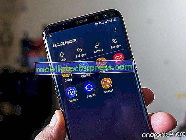 Einrichten eines sicheren Ordners auf dem Galaxy S8 zum Ausblenden von Fotos