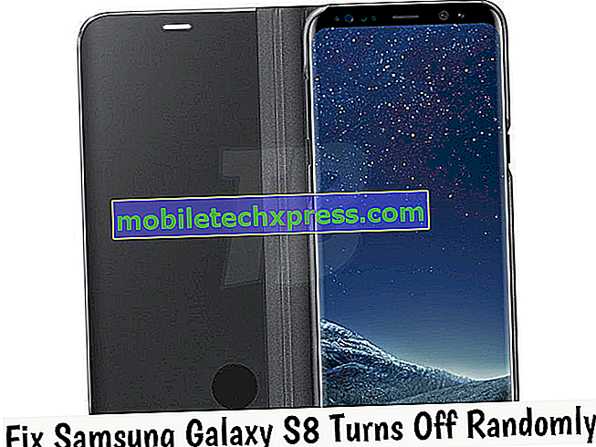Das Samsung Galaxy S8 schaltet sich nach dem Zufallsprinzip aus und aktiviert nicht das Problem und andere verwandte Probleme
