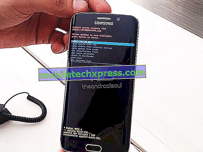 Cómo arreglar un Galaxy Note5 que no instala una actualización