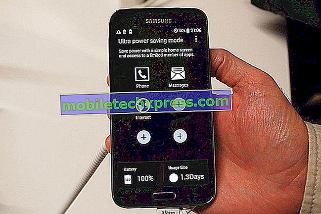 Galaxy S5 se nenabíjí, když je zapnutá, další problémy s nabíjením