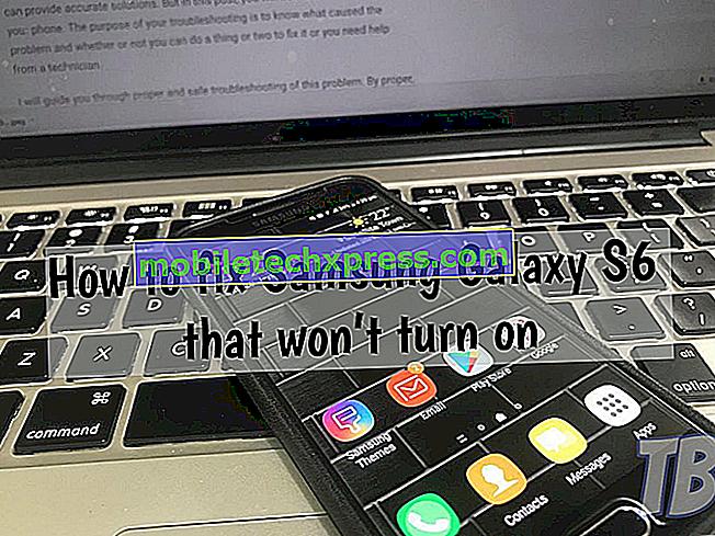 Ako opraviť Samsung Galaxy A6 nie je zapnutý