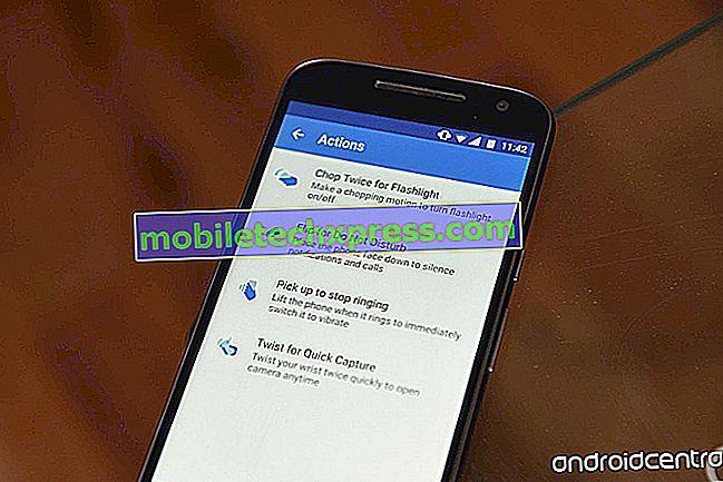 Samsung Galaxy S6 Edge (Edge Plus) skærm blinker til og fra problem og andre relaterede problemer