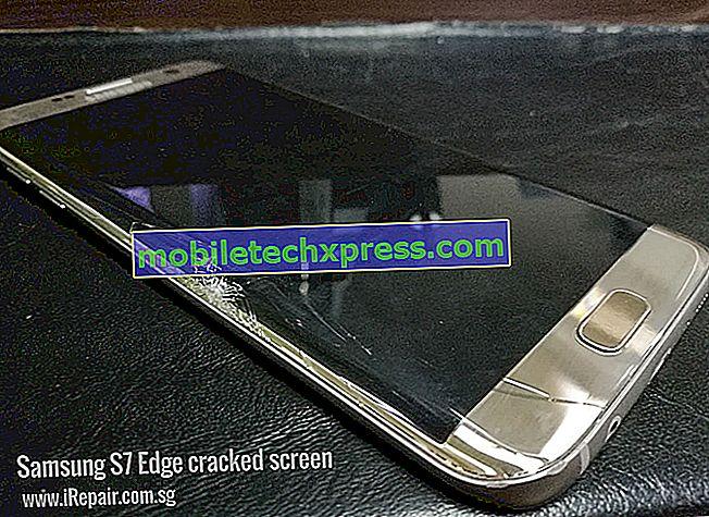 Как да се определи Samsung Galaxy S7 Edge екран трептене въпрос, дисплея става черно и бяло